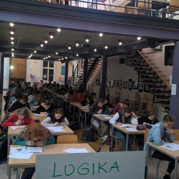 Šolsko tekmovanje iz logikee, foto. Karmen Čarman