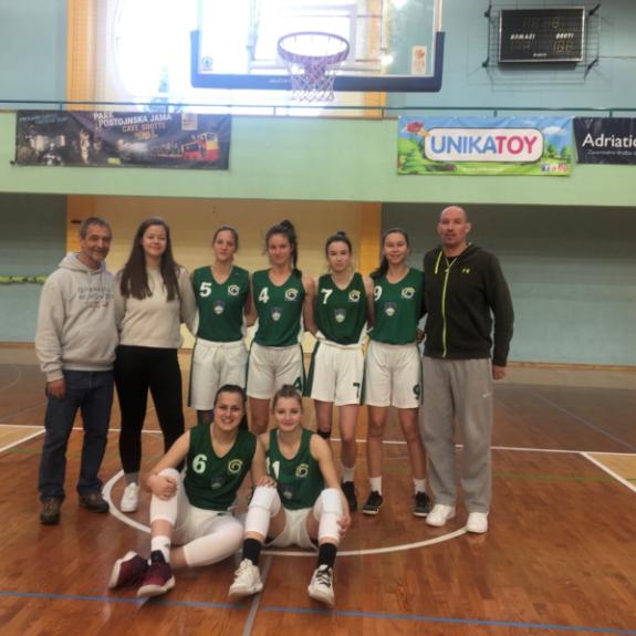 Četrtfinale državnega prvenstva v košarki za dijakinje, foto: Zala Rom