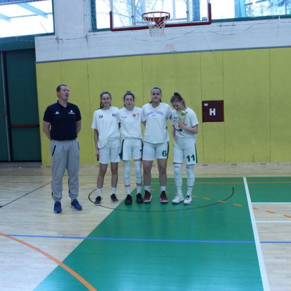 Dijakinje GimNm - košarka 3x3, foto: Agencija za šport