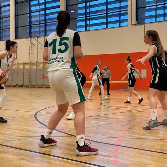 Finalni turnir državnega prvenstva v košarki za dijakinje, foto: Zala Rom