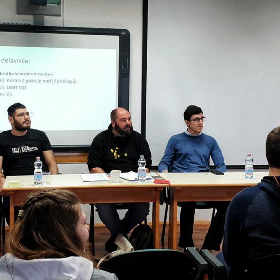 Pogovor o človekovih pravicah, foto: Maja Žunič Fabjančič