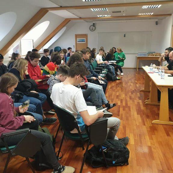 Uvodni pogovor in delavnica, foto: Maja Žunič Fabjančič
