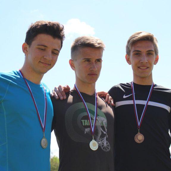 Foto: arhiv Zavoda Novo mesto; Rok Rudman drugi v teku na 2000 m