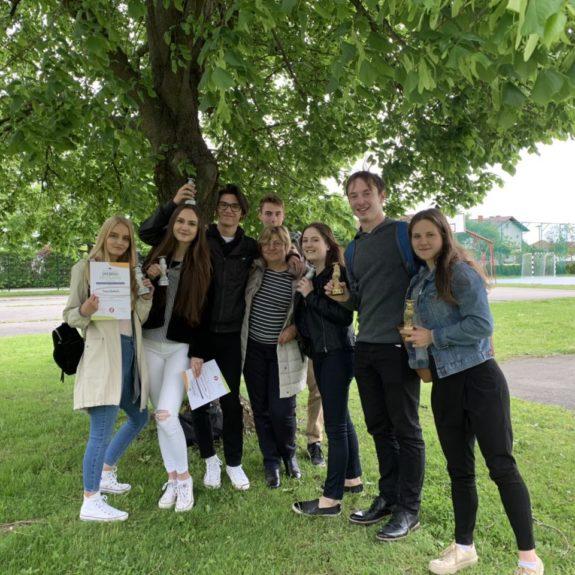 Udeleženci Srečanja mladih raziskovalcev Slovenije