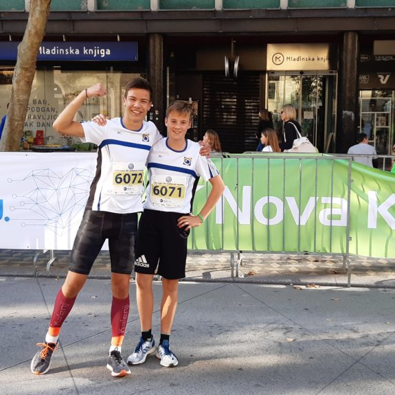Ljubljanski maraton: Gremo fantje, foto: Ivan Maričič