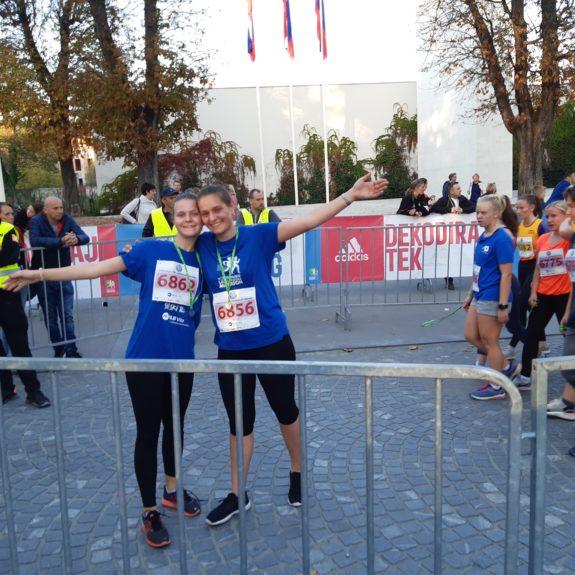 Ljubljanski maraton: Zmogli sva, foto: Ivan Maričič