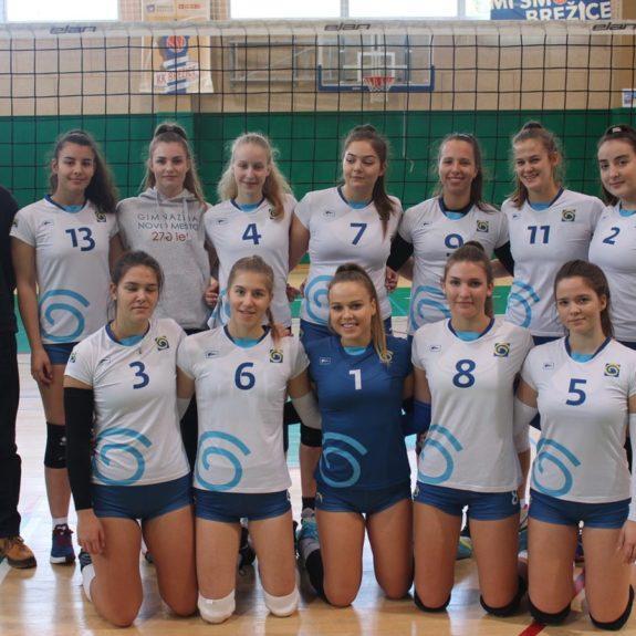 Zmagovita ekipa področnega prvenstva, foto: M. Jerman, Zavod Novo mesto