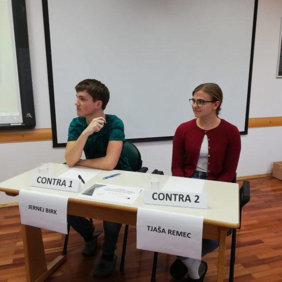 Debatni par; foto: Elsa Louis