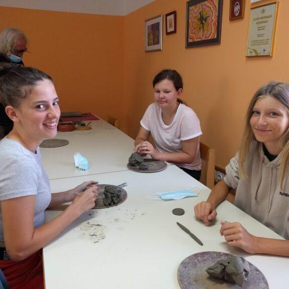 Lončarska delavnica, Foto: Nataša Sekula Zupančič