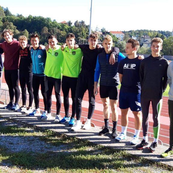 Atletska ekipa dijakov, foto: S. Lavrič