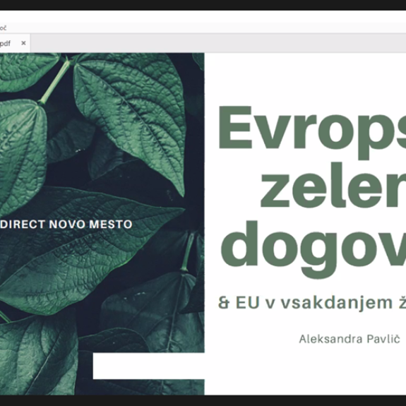 Evropski zeleni dogovor