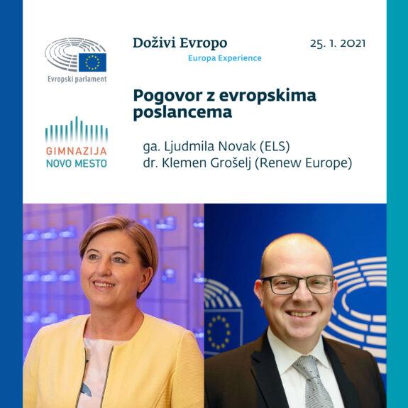 Pogovor z evroposlancema, foto: Hiša EU