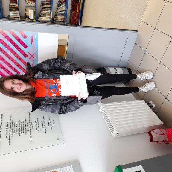 Gimnazijci napisali 80 pisem za Dan za spremembe, foto: arhiv Gimnazije Novo mesto