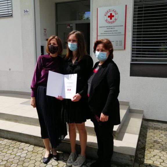 Priznanje naj prostovoljki, foto: OZRK