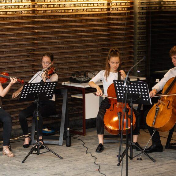 Godalni kvartet, foto: Boštjan Pucelj