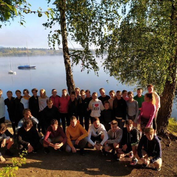 Jutranji tek do jezera, foto: Ela Lesjak